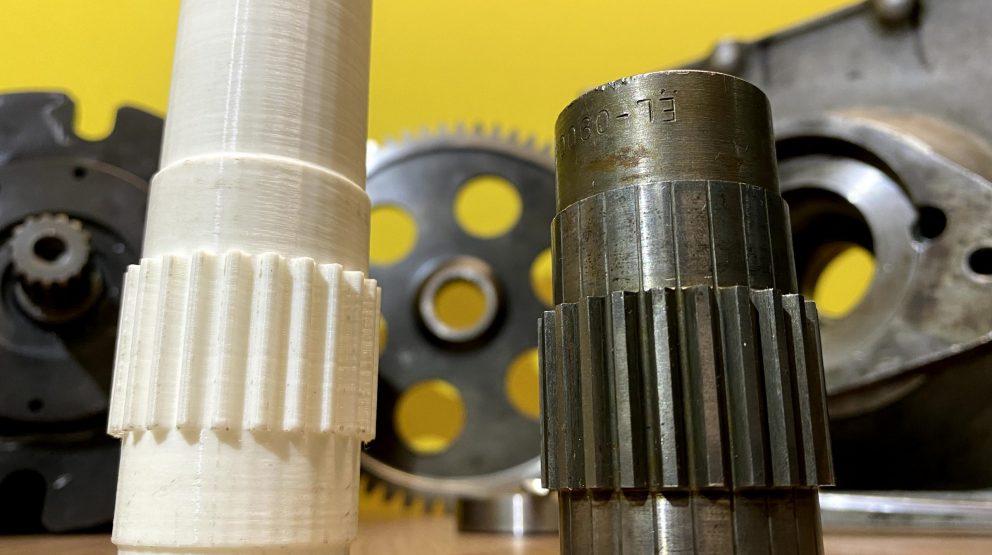 Reverse Engineering and Design of Custom Spline Coupling for LARC-V