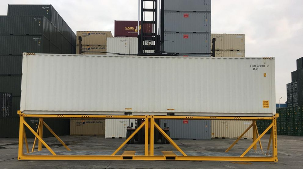 Sea Freight Container Stand Inspections
